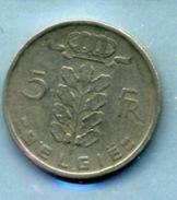 1978  5 FRANCS BELGIË - 1951-1993: Baudouin I