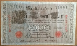 Allemagne - 1000 Mark - 21-04-1910 - PICK 44b.3 - SUP - [ 2] 1871-1918 : Imperio Alemán