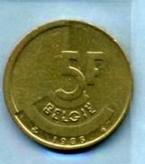 1988  5 FRANCS BELGIË - 1951-1993: Baudouin I