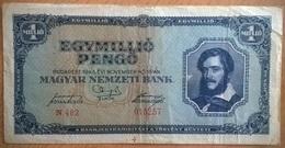 Hongrie - 1000000 Pengo - 16-11-1945 - PICK 122 - TTB - Hungría