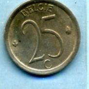 1971  25 CENTIMES  BELGIË - 1951-1993: Baudouin I