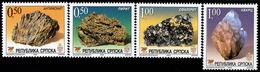 Bosnia & Herzegovina - Republika Srpska - 2004 - Minerals - Museum Collections - Mint Stamp Set - Bosnie-Herzegovine