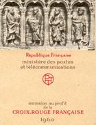 Carnet Croix Rouge Francaise 1960 - Carnets