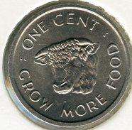 Seychelles 1 Cent 1972 FAO UNC KM 17 - Seychelles