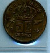 1955   50 CENTIMES  BELGIQUE - 03. 50 Centimes