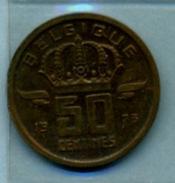 1973   50 CENTIMES  BELGIQUE - 03. 50 Centiem
