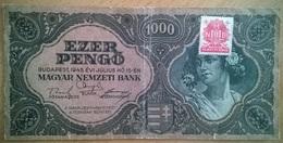 Hongrie - 1000 Pengo - 15-7-1945 - PICK 118b.1 - TB+ - Hungría