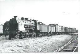 PHOTO D'ARCHIVES : BRAISNES - Détail COMPIEGNE-ROYE - LOCO 230 G ( Animées - TRAIN - LOCOMOTIVE ) 3-65 - Non Classés