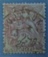 France 1900 : Type Blanc Brun Lilas (II) N° 108b Oblitéré