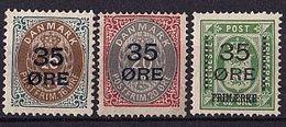 DÄNEMARK Mi. Nr. 60-62 I * (A-3-41)