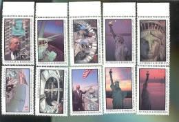 MNH ANTIGUA  1015-24 : STAMPS STATUE OF LIBERTY ; NEW YORK - Antigua And Barbuda (1981-...)