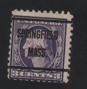USA 885 SCOTT 464 SPRINGFIELD MASS. - Estados Unidos