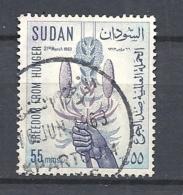SUDAN   1963 Freedom From Hunger USED - Sudan (1954-...)