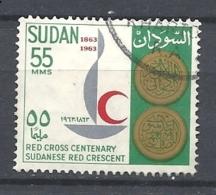 SUDAN   1963 The 100th Anniversary Of International Red Cross    USED - Sudan (1954-...)