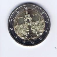 Germania - 2 Euro Commemorativo 2016 - Zecca D - Deutschland