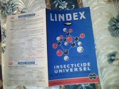 Vieux Papier Publicité Agriculture Insecticide Universel LINDEX QINO  Boullie Emulsion Usine LA QUINOLEINE Tract 4 Pages - Publicidad