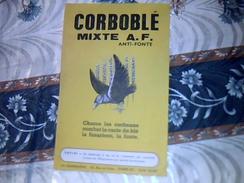 Vieux Papier Agriculture  Publicité COROBOBLé Mixte ANTI FONTE  Usine LA QUINOLEINE  Tract 1 Page - Publicidad