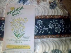 Publicitee Agriculture PYRENON  Quino Contre Le Charancon Du Colza  Usine LA QUINOLEINE  Tract 1 Page - Publicidad