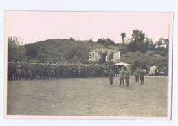 ALBANIA - ITALIAN OCCUPATION - PLATOON OF SOLDIERS - RPPC POSTCARD 1940s - 13 - Army & War