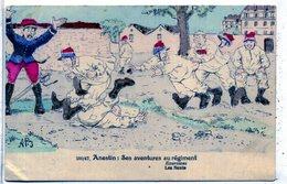 JARNY - Anestin : Ses Aventures Au Régiment - Exercices - Les Sauts - Andere Illustrators