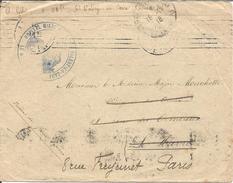 Hopital Mixte 28 Bis Saint Valéry En Caux - Marcophilie (Lettres)