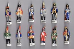 Série Complète De 12 Fèves LES ROIS D'AUSTERLITZ - PRIME 1995 Garde De NAPOLEON - History