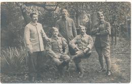 Carte Photo  Militaire 1917 - Prisonniers De Guerre, Allemagne - 2 Scans - Weltkrieg 1914-18