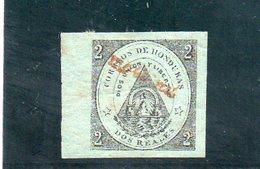 HONDURAS 1877 * YV 9 - Honduras