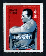 2016 -  Italia - Italy - Luchino Visconti  -  Mint - MNH - 1946-.. République