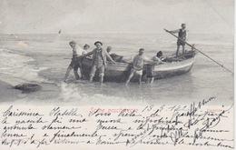 "CARTOLINA ""SCENE PESCHERECCE"" - VIAGGIATA NEL1902 - Postkaarten"