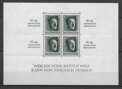 REICH - 1937 - BLOC YVERT N° 11 ** -  COTE = 325 EURO - - Deutschland