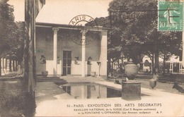 EXPOSITION DES ARTS DECORATIFS PAVILLON NATIONAL DE LA SUEDE - Exhibitions