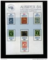 AUSTRALIA - 1984  AUSIPEX  MS  MINT NH - Blocchi & Foglietti