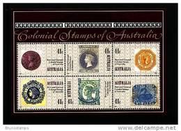 AUSTRALIA - 1990  ANNIVERSARY OF THE PENNY BLACK  MS  MINT NH - Blocchi & Foglietti