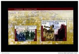 AUSTRALIA - 2000  TOWARDS FEDERATION MS  MINT NH - Blocchi & Foglietti