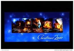 AUSTRALIA - 2000  CHRISTMAS  MS  MINT NH - Blocchi & Foglietti