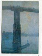 PAINTING - AK249891 James Abbot McNeil Whistler - Old Battersee Bridge Nocturne - Blau Und Gold - Peintures & Tableaux