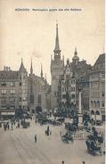 GERMANY - MUNCHEN . MARIENPLATZ DAS ALTE RATHAUS - C/E - F/P - V: 1912 - ANIMATA - Autres