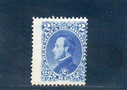 HONDURAS 1878 * - Honduras