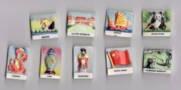Série Complète De 9 Fèves LA CHINE  - NORDIA 1995 Arts & Cultures Chinoises - Länder
