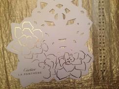 Cartes Parfumée  CARTIER  LA PANTHERE - Perfume Cards