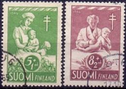 Finland 1946 TBC Hulp GB-USED