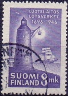 Finland 1946 Vuurtoren GB-USED