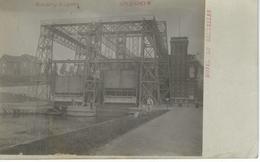 HOUDENG-GOEGNIES : Ascenceur - RARE VARIANTE - Cachet De La Poste 1908 - La Louvière