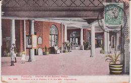 LB 3 : Afrique Du Sud : PRETORIA : Interior  Of The  Railway Station , Gare  ( Cachet) - Afrique Du Sud