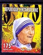 Central Africa 1996 MNH, Mother Teresa, Nobel Peace
