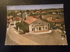 CPSM 17 CHARENTE-MARITIME - EN AVION AU DESSUS DE : SAINT THOMAS DE CONAC - France