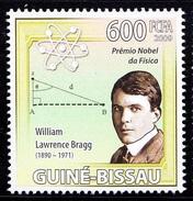 Guine Bi. MNH, Nobel Physics, William L Bragg, British Physicist & X-ray Crystallographer