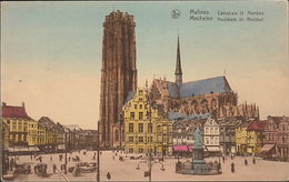 Mechelen Malines  St. Rombouts Kathedraal   Grote Markt - Malines