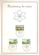 BELG.1967 1408-1409 FDC Max.souvenircard (album 10)